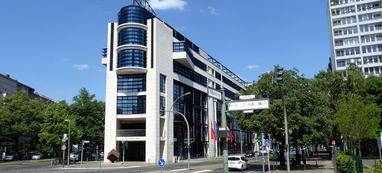 Das Willy-Brandt-Haus in Berlin