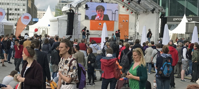 """Kirchentag auf dem Weg"" 2017"