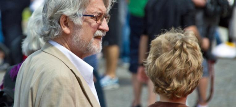 Lothar Krappmann beim GuluWalk 2012 in Berlin