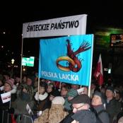KOD-Demo am 13.12.2016 in Warschau