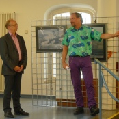 Stadtrat Paul-Gerhard Weiß + Peter Menne
