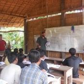 Englischunterricht in Kambodscha - ein