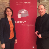 Katarina Barley und Stephan Ackermann