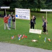 """Protest von """"Reichsbürgern"""""""