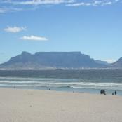 Blick auf Kapstadt und den Tafelberg