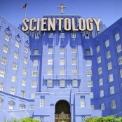 Das internationale Hauptquartier der Scientology-Kirche in Los Angeles