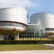 Gebäude des Europäischen Gerichtshofes für Menschenrechte in Straßburg