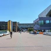 Haupteingang zur Ruhr-Universität Bochum