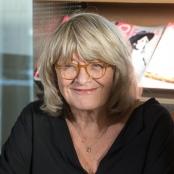 Alice Schwarzer in der EMMA-Redaktion