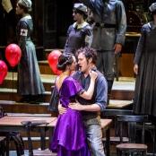 Die Faschingsfee: Camille Schnoor (Fürstin Alexandra Maria), Daniel Prohaska (Viktor Ronai), Ballett
