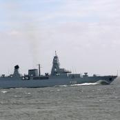 Fregatte Hamburg (F 220) der Deutschen Marine