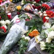 Blumen zum Gedenken