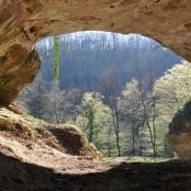 Eingang der Vindija-Höhle in Kroatien, einer der Fundstätten, in denen die Wissenschaftler Urmenschen-DNA im Sediment nachweisen konnten.