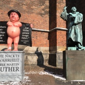 Nackter Luther Hannover