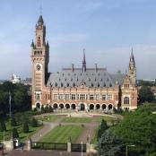 Der Friedenspalast in Den Haag, Dienstgebäude des Internationalen Gerichtshofs