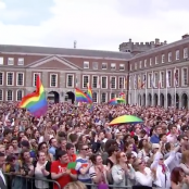"""Ireland votes to legalise gay marriage"", Screenshot YouTube"