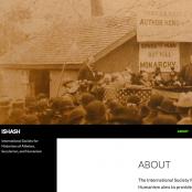 Screenshot der ISHASH-Webseite