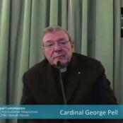 Kardinal George Pell bei seiner Aussage im Missbrauchsskandal
