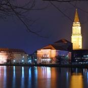 Kiel bei Nacht (Ausschnitt)