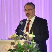 Der Präsident von Jugendweihe Deutschland, Konny G. Neumann