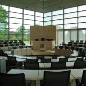 Der Plenarsaal des Schleswig-Holsteinischen Landtages