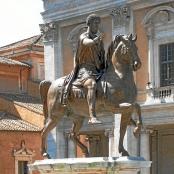 Reiterstandbild Marc Aurels auf dem Kapitol, Rom