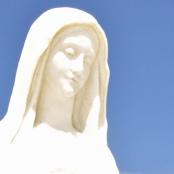 Heute hier, morgen dort, trotzdem immer freundlich: Mutter Gottes