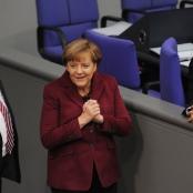 """Bundeskanzlerin Merkel nach Abstimmung zum """"Sterbehilfeverhinderungsgesetz"""""""