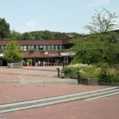 Osnabrücker Zoo. Eingangsgebäude