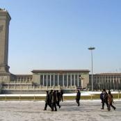 Die Große Halle des Volkes auf dem Tian'anmen-Platz