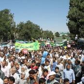 Demonstration am al-Quds-Tag in Nischapur 2011