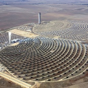Solarwärmekraftwerk PS10 bei Sevilla, Spanien