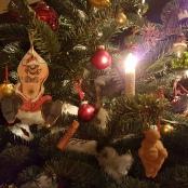 Postmoderner Weihnachtsbaum