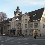 Hauptgebäude der Uni Jena