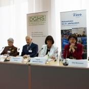 Pressekonferenz zur Bildung des Bündnisses