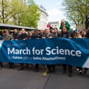 """""""March for Science"""" 2017 in Berlin"""