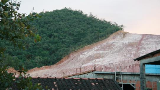 Regenwaldabholzung in Brasilien