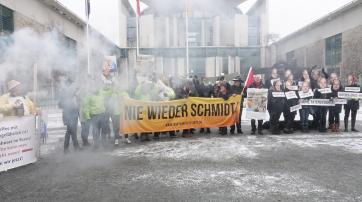 """""""Nie wieder Schmidt!"""""""