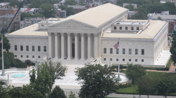 Supreme Court Building in Washington, D.C.