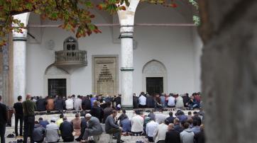 Hof einer Moschee