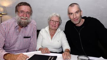 Erwin Schmid, Sabine Mania und Michael Ganß