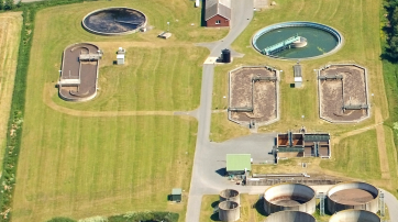 Abwasseraufbereitungsanlage in Schiffdorf
