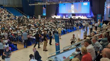 Bundesparteitag der Alternative für Deutschland am 4./5. Juli 2015 in Essen