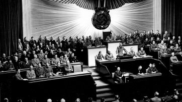 Reichstagsrede Hitlers zur Kriegserklärung an die Vereinigten Staaten, Krolloper Berlin, 11. Dezember 1941