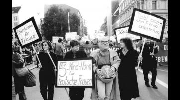 Protest gegen Paragraf 218 (1990)