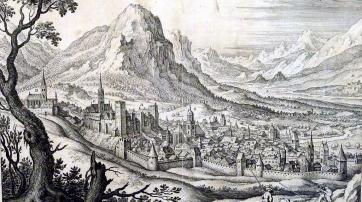 Chur im Jahr 1655