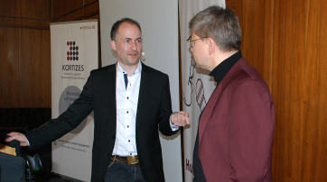 Prof. Claus C. Carbon (l.) und Helmut Fink (r.)