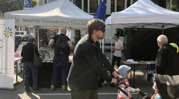 Der BfG München auf dem Corso Leopold 2018