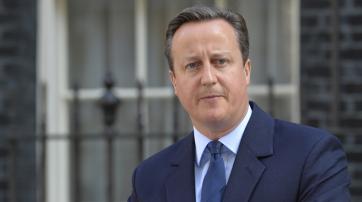 David Cameron bei der Bekanntgabe seines Rücktritts
