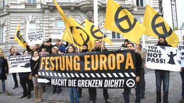 "Demonstration der ""Identitären"" in Wien (2013)"